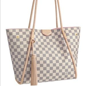 Louis Vuitton Propriano PM Azur tote shoulder bag